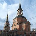 Москва, Церковь Петра и Павла в Новой Басманной слободе