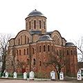 Овруч, Васильевский женский монастырь. Церковь Василия Великого