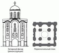 Надвратная Троицкая церковь Киево-Печерского монастыря