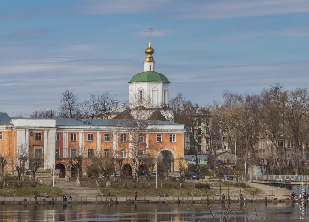 Церковь Успенский Отроч мужской монастырь. Успения Пресвятой Богородицы, Тверь