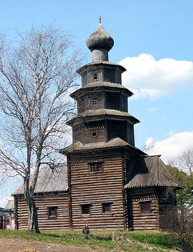 Церковь Тихвинской иконы Божией Матери, Торжок