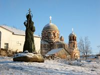 Церковь Троицы Живоначальной в Щурове - Коломна - Коломенский район - Московская область