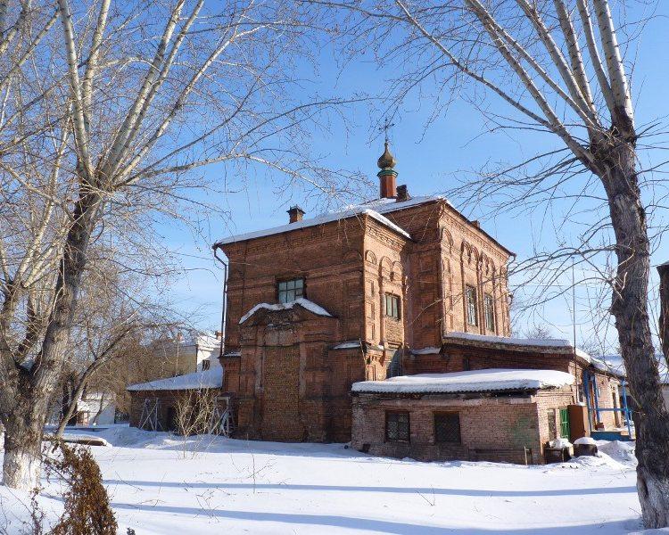 Церковь Николая Чудотворца-Красноярск-г. Красноярск-Красноярский край