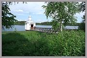 Покрово-Тервенический женский монастырь. Неизвестная часовня (купальная) - Тервеничи - Лодейнопольский район - Ленинградская область
