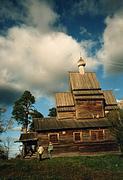 Церковь Георгия Победоносца - Юксовичи (Родионово) - Подпорожский район - Ленинградская область