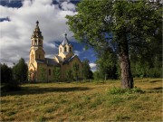 Лисино-Корпус. Происхождения честных древ Креста Господня, церковь