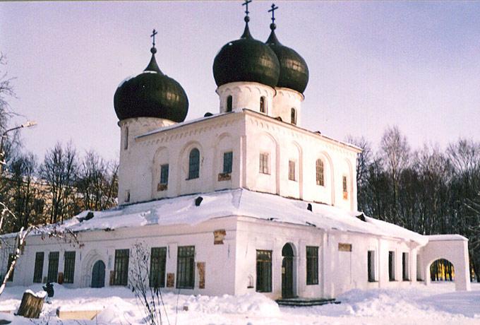Антониев монастырь. Собор Рождества Пресвятой Богородицы, Великий Новгород