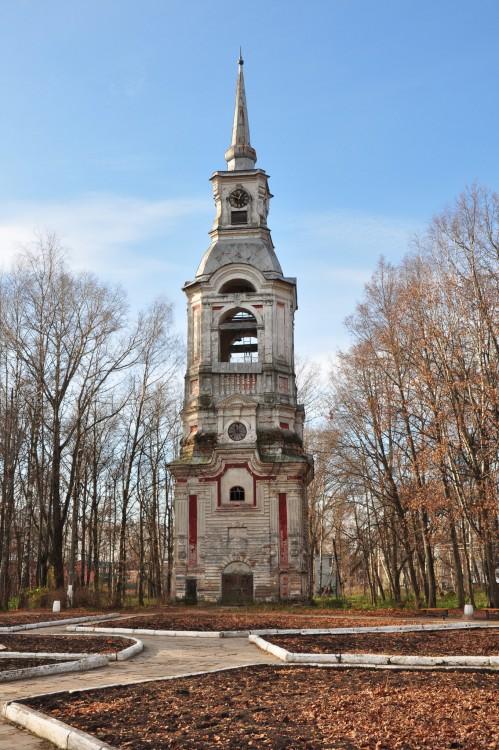 Колокольня церкви Спаса Преображения, Осташков