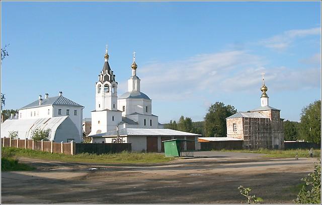 Николо-Волосовский епархиальный женский монастырь, Волосово