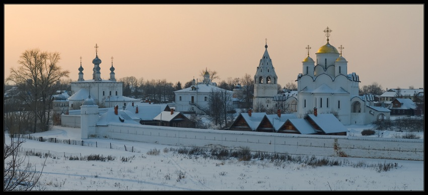 Покровский женский монастырь суздаль