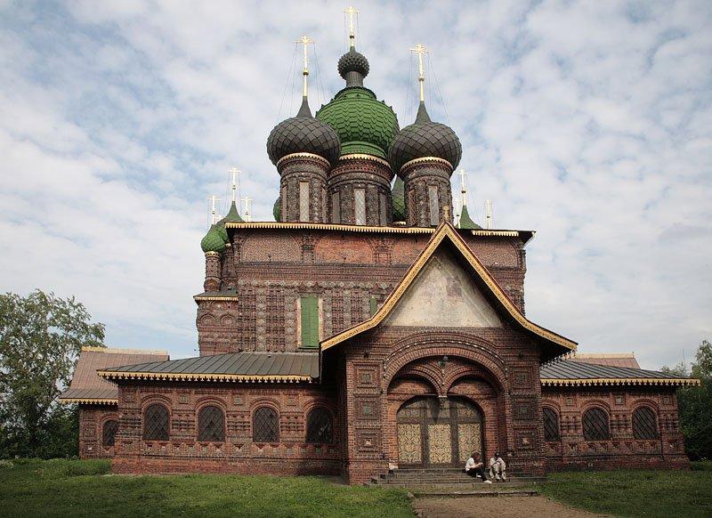 Церковь Усекновения главы Иоанна Предтечи в Толчкове, Ярославль