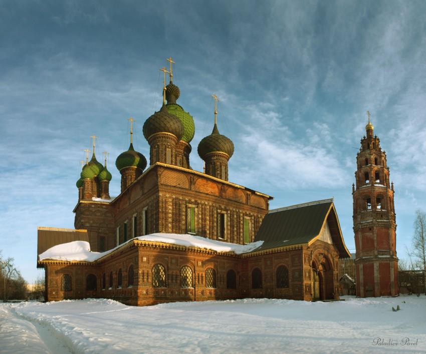 Церковь Усекновения главы Иоанна Предтечи в Толчкове-Ярославль-г. Ярославль-Ярославская область