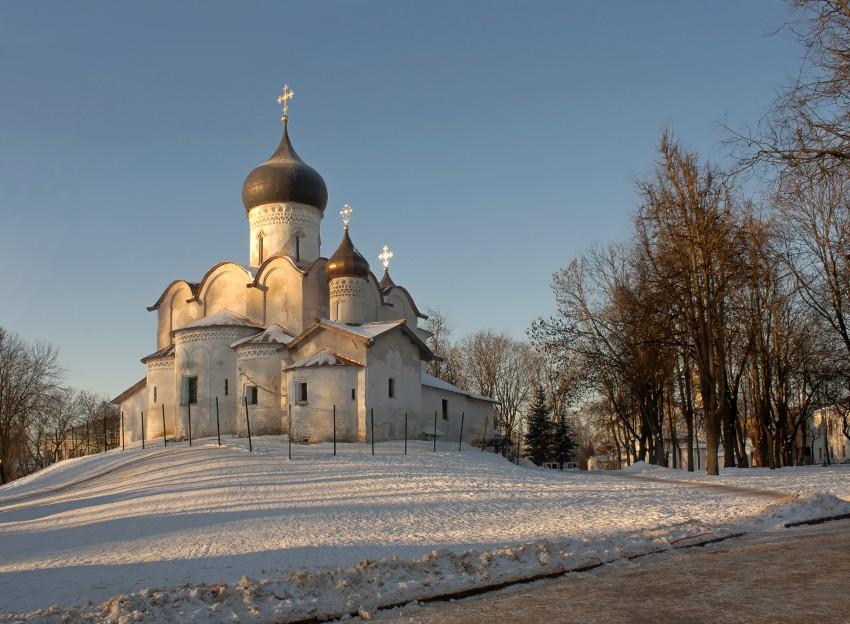 Церковь Василия Великого на Горке-Псков-г. Псков-Псковская область