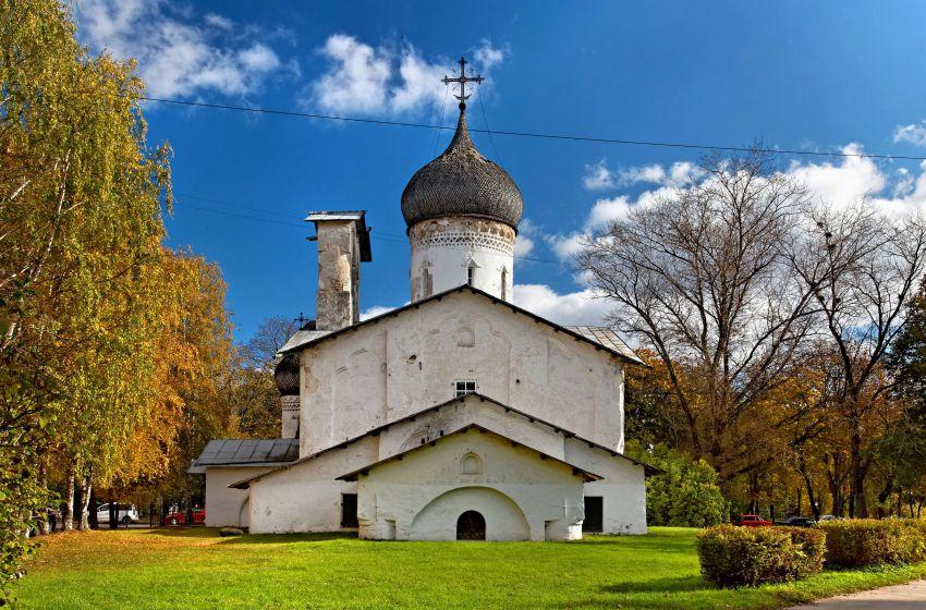 Церковь Николая Чудотворца с Усохи-Псков-г. Псков-Псковская область