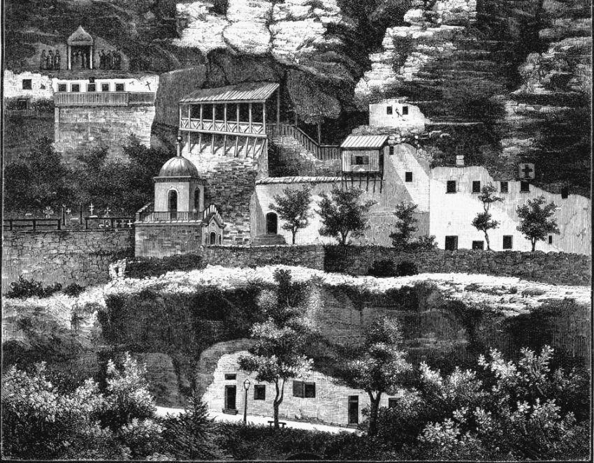 Успенский мужской монастырь, Бахчисарай