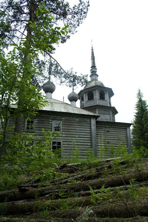 Церковь Александра Свирского, Масельга