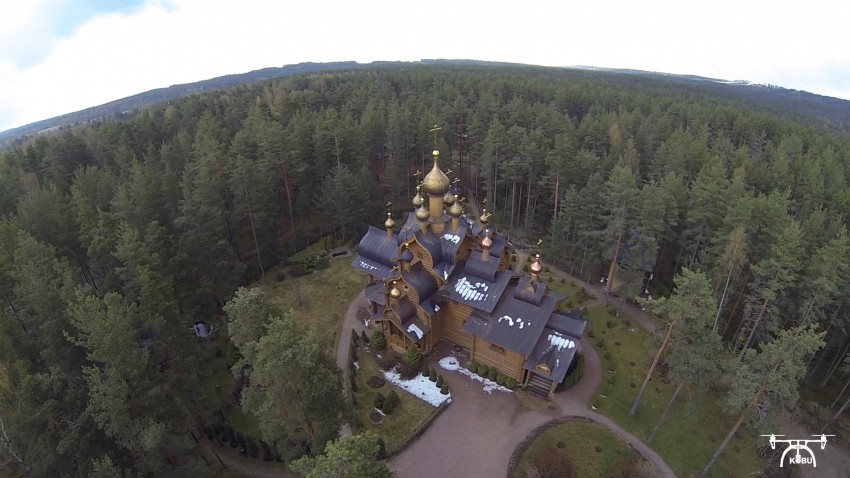 Церковь Всех Русских Святых-Сосново-Приозерский район-Ленинградская область
