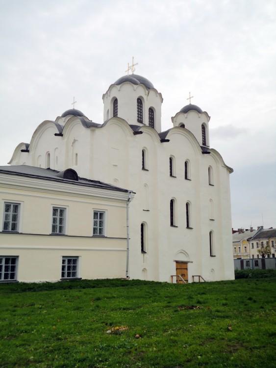 Собор Николая Чудотворца на Ярославовом дворище, Великий Новгород