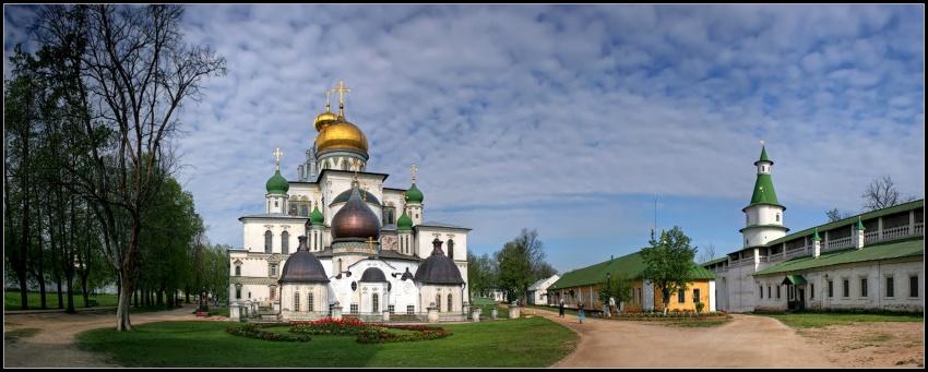 Ново-Иерусалимский монастырь-Истра-Истринский район-Московская область
