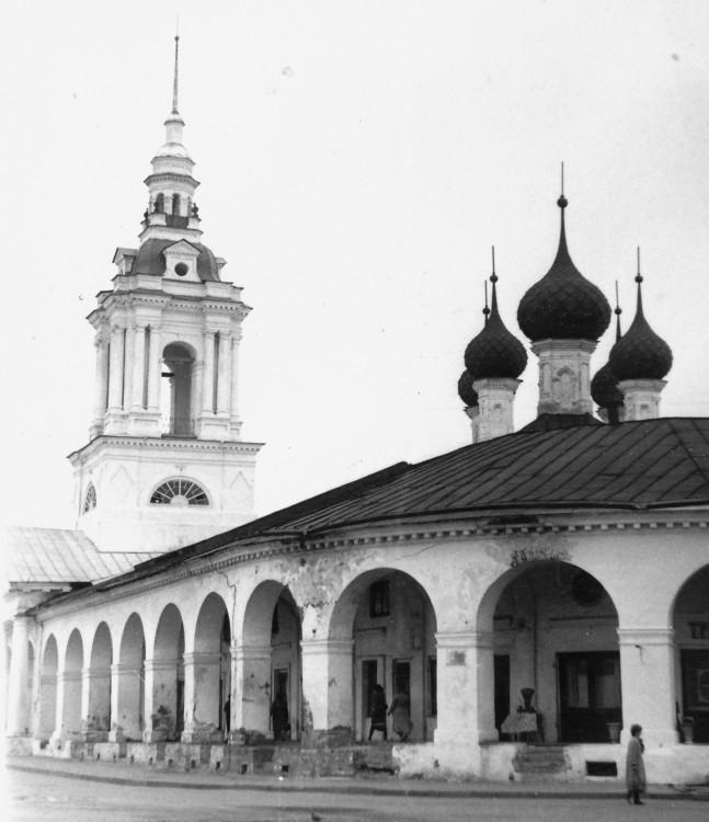 Церковь Спаса Нерукотворного Образа в рядах, Кострома
