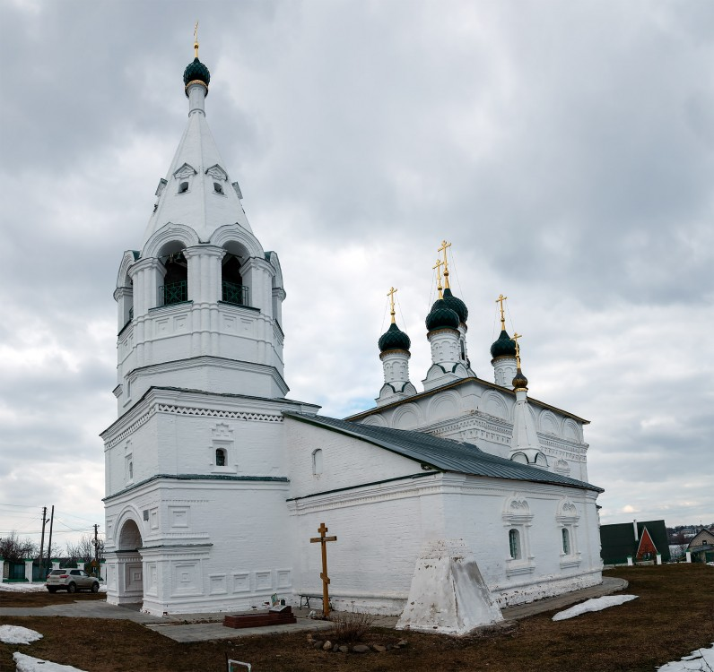 Церковь Спаса Преображения за Волгой, Кострома
