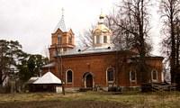 Церковь Феодора Стратилата - Кисельня - Волховский район - Ленинградская область