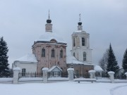 Ново-Спасское (Новоспасское). Тихвинской иконы Божией Матери, церковь
