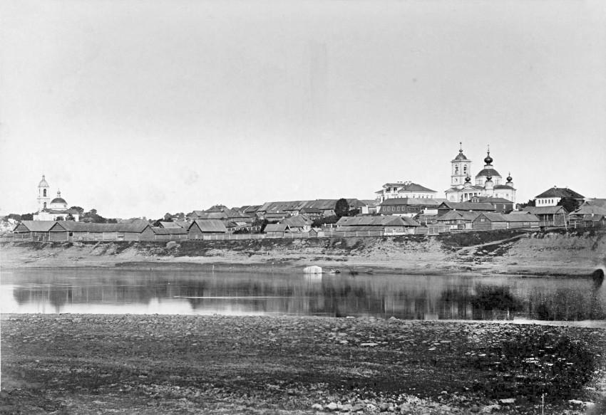 Достопримечательности Мышкина: Мышкин, старое фото 1903 года