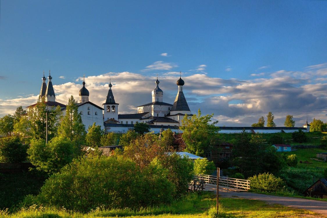 Ферапонтов монастырь-Ферапонтово-Кирилловский район-Вологодская область