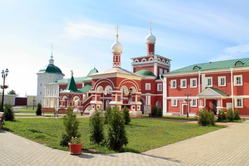Николо-Пешношский монастырь-Луговой-Дмитровский район-Московская область