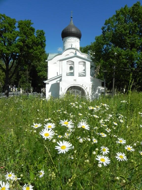 Церковь Георгия Победоносца со Взвоза-Псков-г. Псков-Псковская область