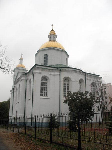 Богоявленский монастырь. Кафедральный собор Богоявления Господня, Полоцк