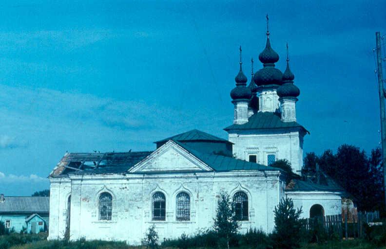 Церковь Рождества Христова, Малые Соли
