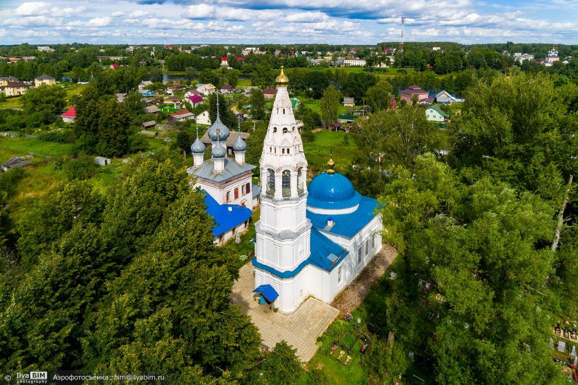Храмовый комплекс. Церкви Спаса Преображения и иконы Божией Матери