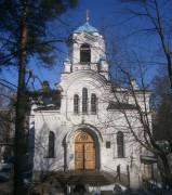 Выборгский район. Спаса Нерукотворного Образа (Спасо-Парголовская) на Шуваловском кладбище, церковь