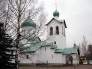 Московский район. Сергия Радонежского на Средней Рогатке, церковь