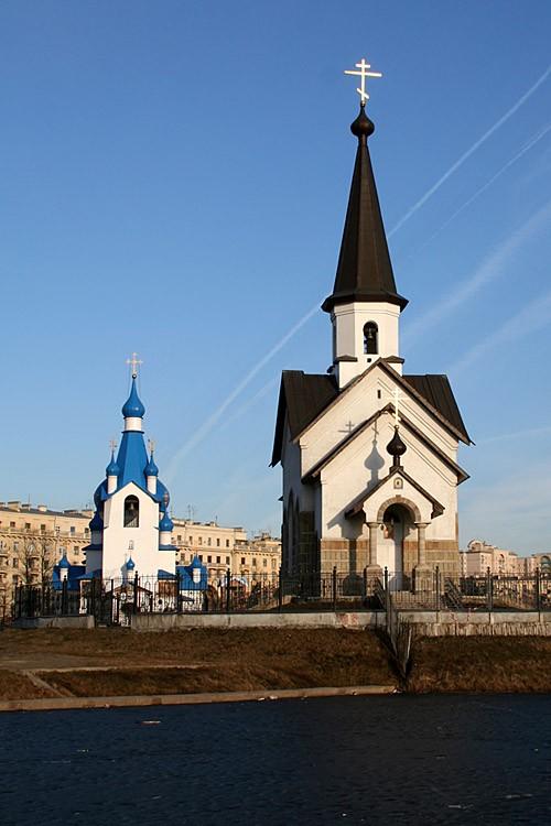 Церковь георгия победоносца на пулковском шоссе