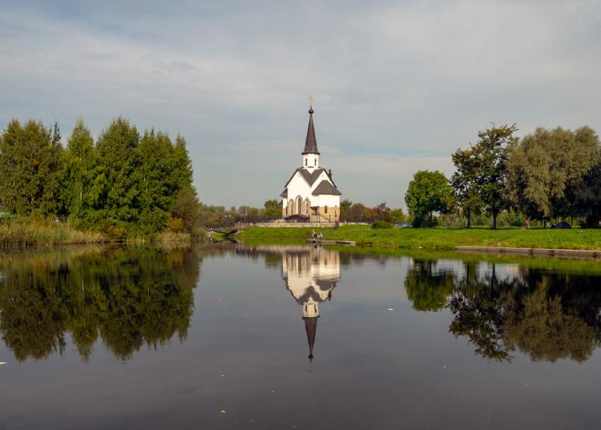 Церковь Георгия Победоносца на Средней Рогатке, Санкт-Петербург