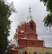 Пушкин (София). Иулиана Тарсийского и Илии Пророка лейб-гвардии Кирасирского полка, церковь