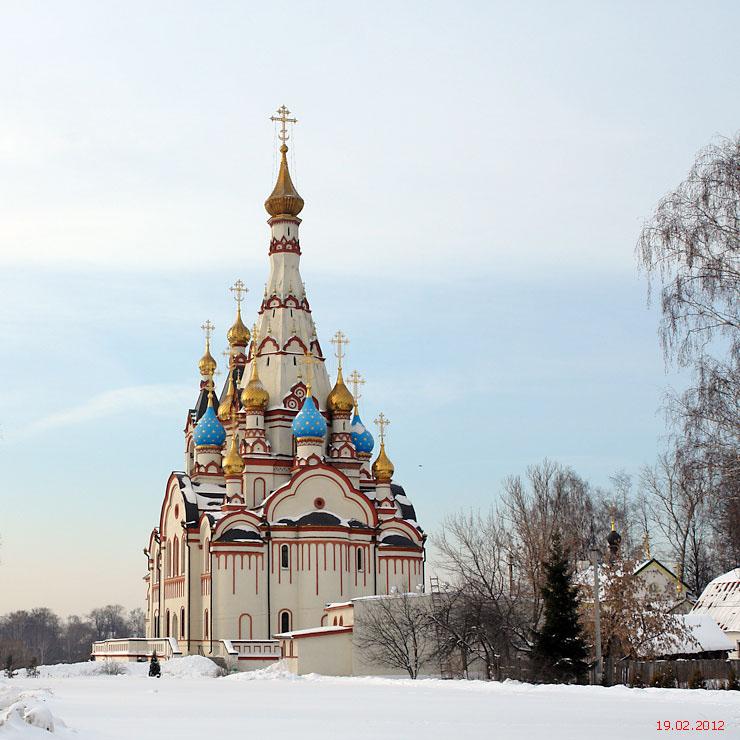 Церковь Казанской иконы Божией Матери в Тарбееве, Долгопрудный