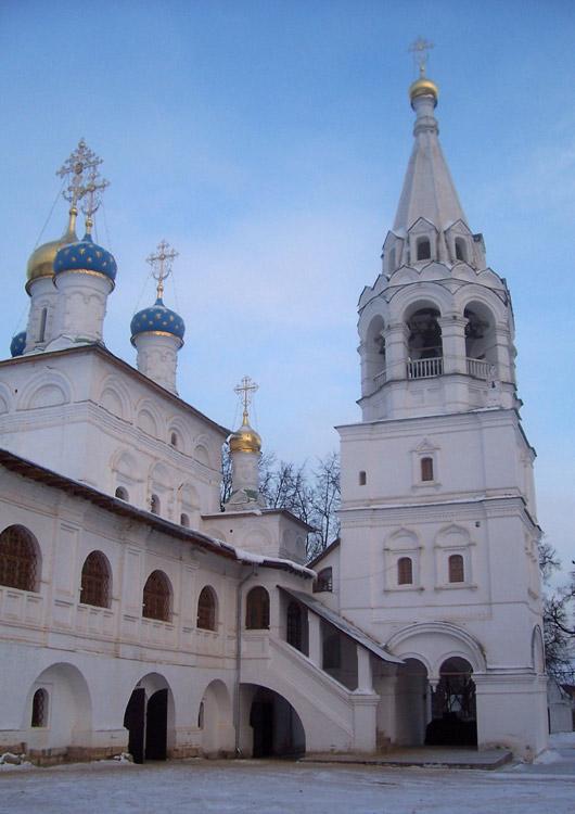 Благовещенская церковь в павловской слободе истринского района московской области