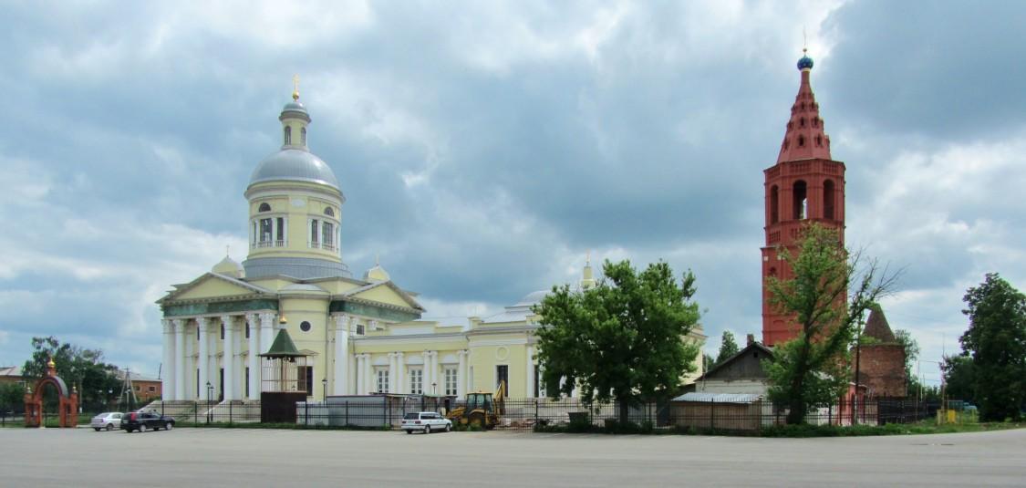 Собор Николая Чудотворца-Епифань-Кимовский район-Тульская область