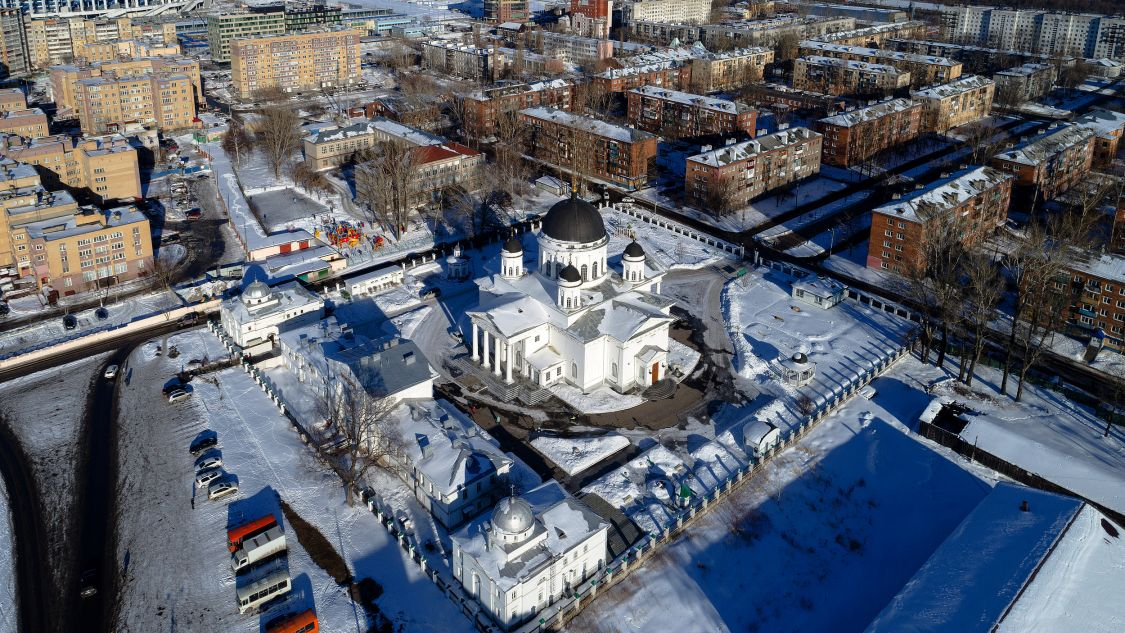 Собор Происхождения Честных Древ Креста Господня (Спасский Староярмарочный), Нижний Новгород