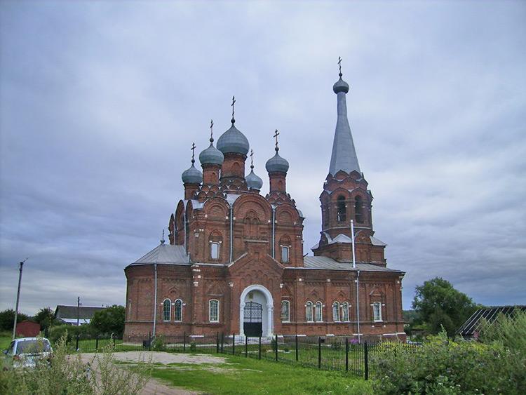 Церковь Тихвинской иконы Божией Матери-Козлово-г. Калуга-Калужская область