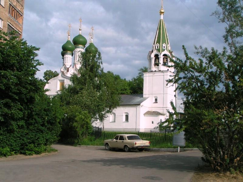 Церковь Успения Пресвятой Богородицы на Ильинской горе, Нижний Новгород