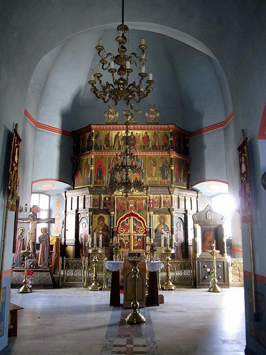 Церковь Димитрия Солунского, Руза