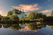 Московская область, Щёлковский район, Рязанцы, Церковь Троицы Живоначальной
