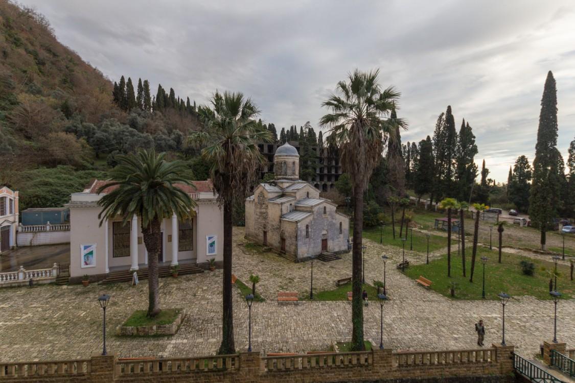 Церковь Симона Кананита-Новый Афон-Абхазия-Прочие страны