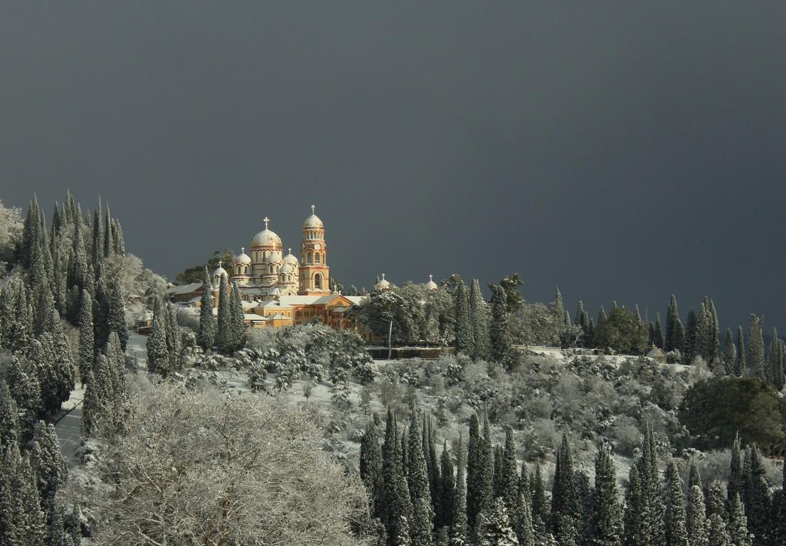 Новоафонский монастырь Святого Апостола Симона Кананита, Новый Афон