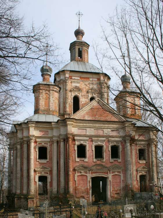 Церковь Владимирской иконы Божией Матери-Вязьма-Вяземский район-Смоленская область